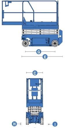 Подъёмник ножничный Genie GS 1532