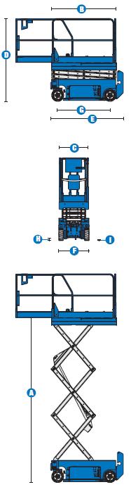 Ножничный подъёмник Genie GS 2032