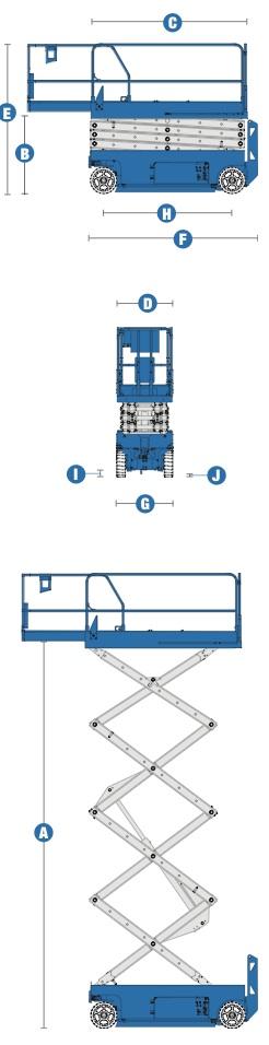 Ножничный подъёмник Genie GS 2632