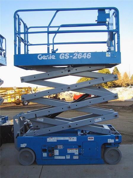 Ножничный подъёмник Genie GS 2646