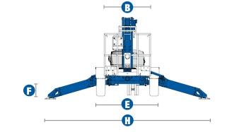 Прицепной подъёмник Genie TZ-50