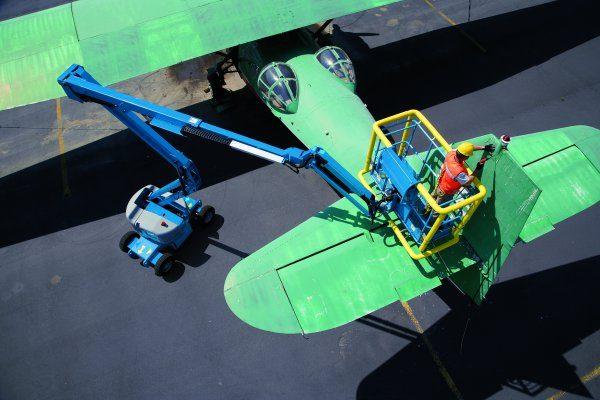 Коленчатый самоходный подъёмник Genie Z-45:25J DC