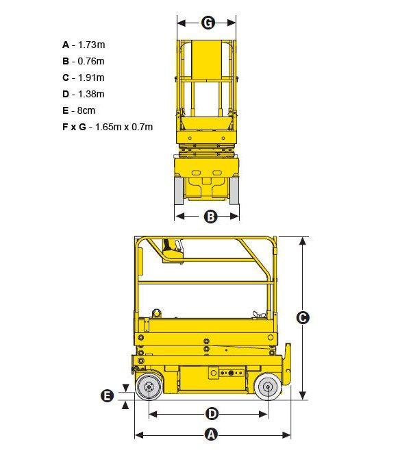 Подъёмник ножничный Hаulоttе Орtimum 6