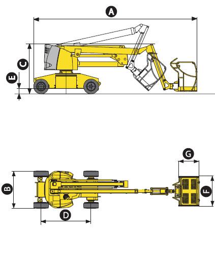 Коленчатый подъёмник Haulotte HA 15 IP