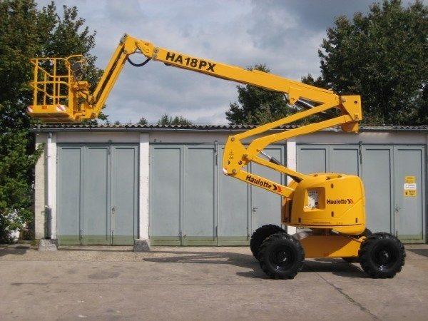 Коленчатый подъёмник Haulotte HA 18 PX