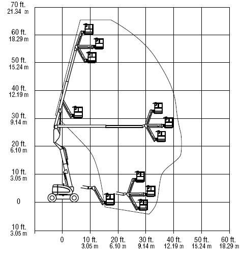 Подъёмник коленчатый JLG 600 AJ