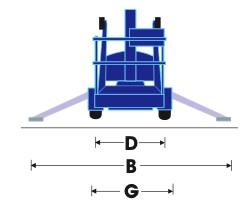 Прицепной коленчатый подъёмник Snorkel TL 49 J (UpRight TL 49 K)