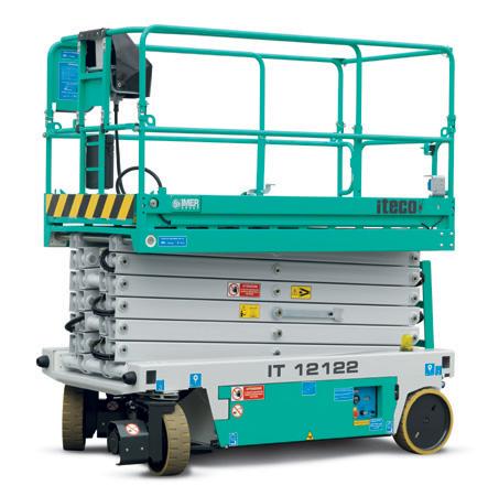 Электрический ножничный подъёмник ITECO IT 12122